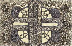zentangledoodl art, tangle patterns, celtic crosses, imit doodl, zentangl idea, celtic zentangl