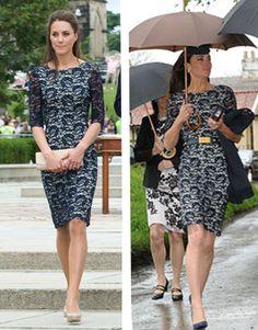 Kate Middleton wears lace Erdem... twice!