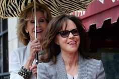 Sally Field Gets Her Star on the Hollywood Walk of Fame -  ~~Actress Sally Field reacts to comments by actor Beau Bridges (not pictured) as actress Jane Fonda looks on during an unveiling ceremony honoring Field with the 2,524th star on the Hollywood Walk of Fame in Los Angeles on May 5, 2014. UPI/Jim Ruymen Read more: http://www.upi.com/News_Photos/Entertainment/Sally-Field-Gets-Her-Star-on-the-Hollywood-Walk-of-Fame/fp/8379/#ixzz32HmIThTU