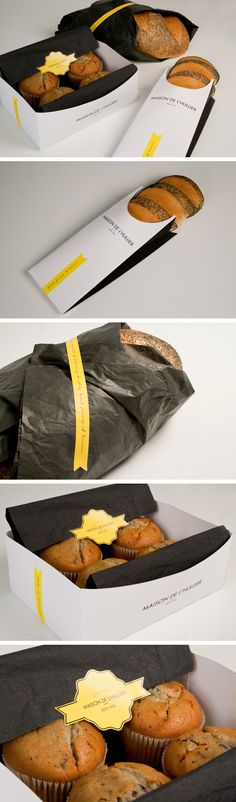 Unique Packaging Design on the Internet, Maison de L'Hullier #packagingdesign #packaging #design http://www.pinterest.com/aldenchong/