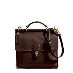 the Iconic Willis Bag from Coach