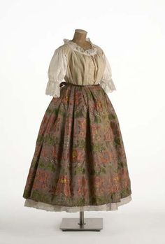 Mujer de Valencia S.XVIII