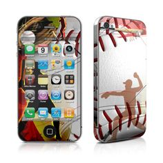 iPhone 4 Skin - Home Run by DecalGirl Collective