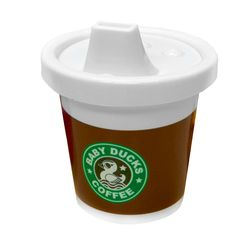 """Starbucks"" inspired sippy cup..too cute!!!"