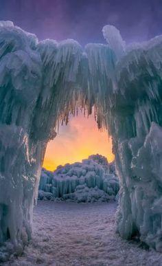 Ice Castle, Midway, Utah