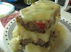Mom's Meatloaf Cake