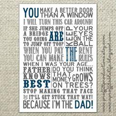 Love my daddy :)