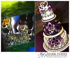 cake purpl, wedding cakes, purpl cake, anniversari cake