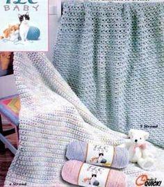 Quick As a Wink Baby Blanket LW1262 | Free Patterns | Yarn