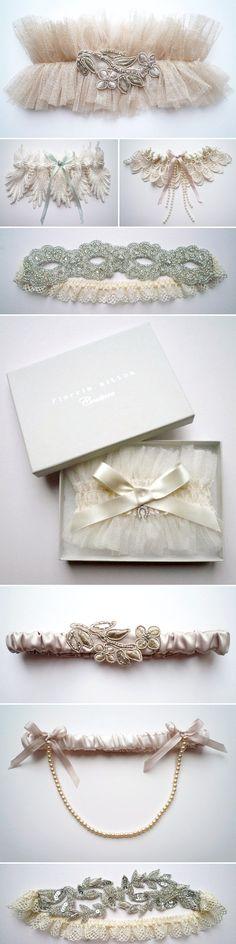 Vintage garters.... love