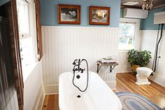 Beadboard - DIY Bath Crashers Farmhouse Redo