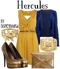 I like the dress, blue and yellow is awesome!