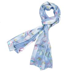 Get your blue Easter Scarf at Purple Box Jewelry for only $7.90 along with all your other favorite holiday scarves.