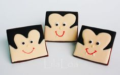 These (and other cute items on the website) are cookies, but you could use the idea on repurposed Scrabble tiles to make SWAP's. Add a bail or screw with eye for pinning.