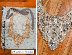 DIY Statement Necklace by Stacie Stacie Stacie