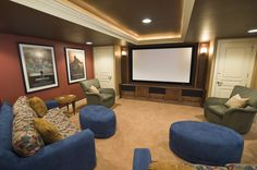 Lighting. The most critical component to making a basement a place people want to hang out is good lighting. Here's another example of a wel...