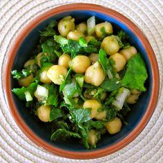 Citrus Chickpea Cilantro Salad  Recipe- Sprint 2 the Table
