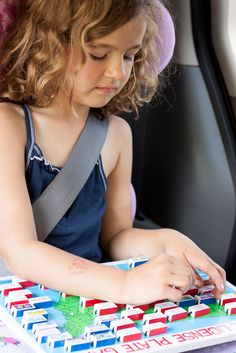 {ON the GO Backseat Learning} *5 traveling games for kids