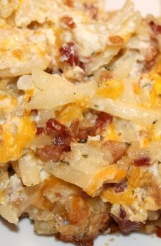 Loaded Baked Potato Casserole | Amanda's Beauty and Recipe Finds