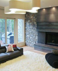 Contemporary living room by Johnson & Associates Interior Design