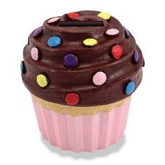 Cupcake Money Bank - Cupcake Party Favor Ideas