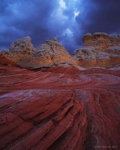 Storm Folds - Paria Plateau, Northern Arizona