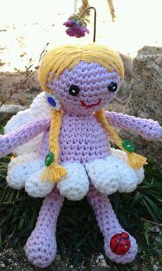 Gema Solana nos manda esta muñequita de ganchillo hecha con Natura!