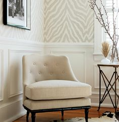 Thibaut Geometric Collection 'Etosha' in beige/white // also available in grey/white // pearl/white // beige/white