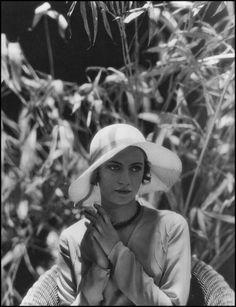 Edward Steichen —Lee Miller — 1928 vintag, fashion, miller photograph, edward steichen, 1928, lee miller, 1920s, portrait, photographi