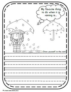 spring writing prompts first grade
