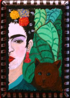 Frida    PJ Hornberger Folk Artist