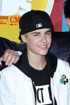Justin Bieber at CMT Music Awards