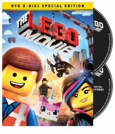 The LEGO Movie (DVD + UltraViolet Combo Pack): Chris Pratt, Will Ferrell, Elizabeth Banks, Will Arnett, Nick Offerman, Alison Br...