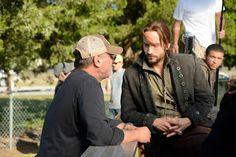 Tom Mison as Ichabod Crane in Sleepy Hollow, 2013