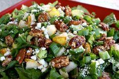 pear salad.. yummy!