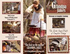 The Grandpa Jake's Campfire Cooker