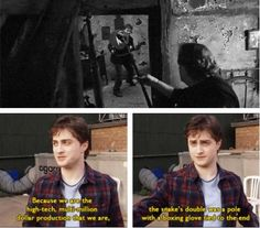 Harry Potter. Humor. Daniel Radcliffe