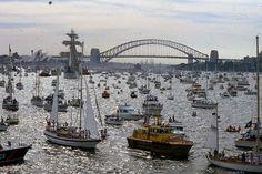Australia's Bicentenary- tall ships, Sydney