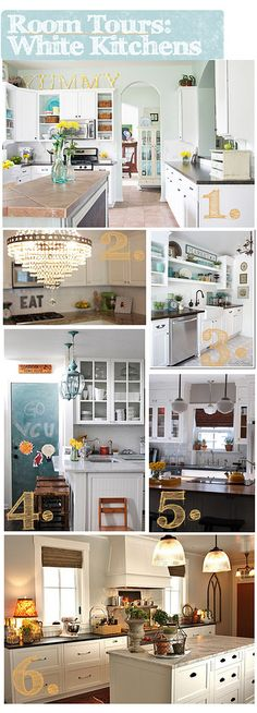 oooh be still my heart! One week until I start my kitchen renovation!!!!!  #white kitchens