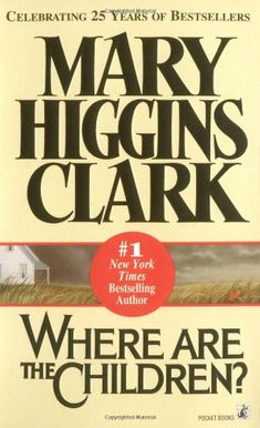 Might need to read this one.  Previous pinner said: The first Mary Higgins Clark book I read....LOVED IT! Read every one after. Then I met her years ago at a book signing and she was SO friendly and nice.