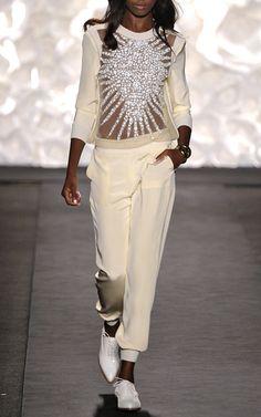 starburst! pullover a la Naeem Khan