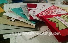 How to make it a STRESS FREE Holiday Season! Christmas Cards by http://www.handstampedstyle.com made simple and stress free!
