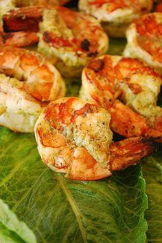 Grilled Lime Shrimp Recipe