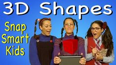 3D Shapes by Snap Smart Kids
