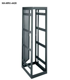 """MRK Series #Rack #Enclosures: Slim Seismic-Zone 4 Certified Fully Welded Rack from Middle Atlantic. Slim 22"""" width is compact enough to save room in cramped locations. Laser-cut 1/8"""" thick internal steel brackets for increased strength. Available in 4 different depths to better suit your application."""