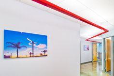 Modern hallway lighting. #design #lighting #architecture #hallway