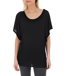 Alo Women's Short Sleeve Stitched Yoga Crew Neck at SwimOutlet.com