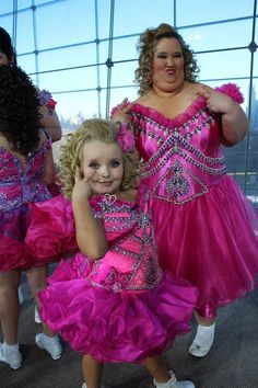 Honey Boo Boo Child and her Mom- Wow.  Rarely am I at a loss for words. Ask anyone.