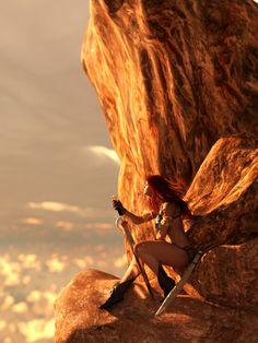 Red Sonja by flyashy.deviantart.com
