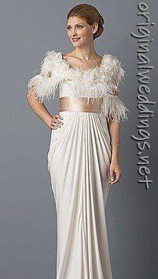 stunning & floaty bride gown. #weddings